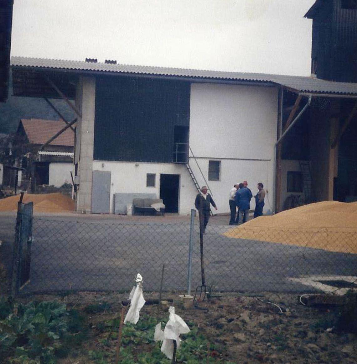 Geschichtliches Foto vom landwirtschaftlichen Betrieb Kollar-Lackner