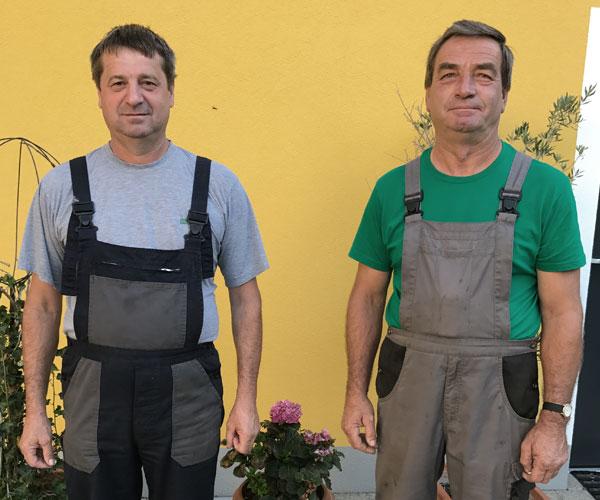 Mitarbeiter des Betriebs Kollar-Lackner